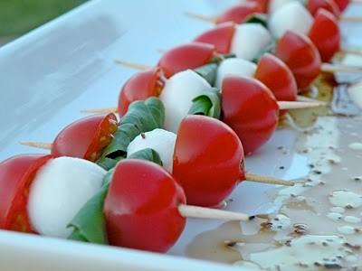 Tomato-and-mozzarella