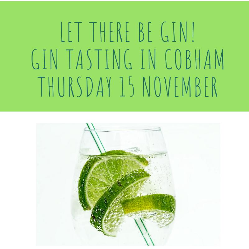 Gin-tastingThursday-15-November