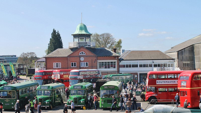 London-Bus-Museum-Spring-Gathering-visit-Surrey
